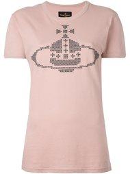 футболка с логотипом Vivienne Westwood Anglomania