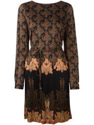 платье с абстрактным принтом   Etro
