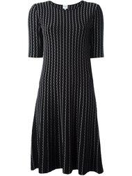 платье А-образного силуэта Armani Collezioni
