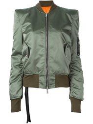 куртка-бомбер со структурированными плечами Unravel