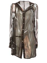 полупрозрачная блузка Ann Demeulemeester