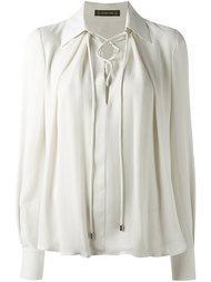 блузка со шнуровкой спереди Plein Sud