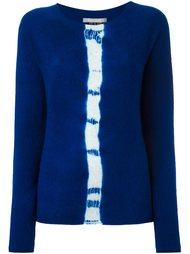 свитер с контрастной полосой Suzusan