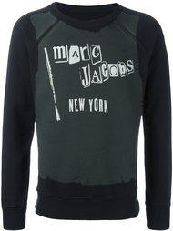 толстовка с принтом логотипа   Marc Jacobs