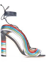 босоножки 'Crazy Stripes' Paula Cademartori