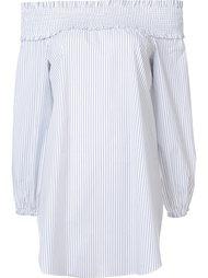 блузка со спущенными плечами  Tibi