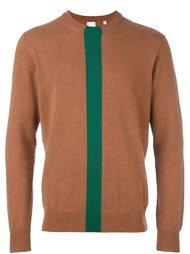 свитер с контрастной полоской  Paul Smith