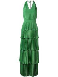 многоярусное плиссирвоанное платье Nº21
