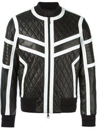 куртка с контрастной окантовкой  Neil Barrett