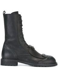 армейские ботинки на шнуровке Ann Demeulemeester