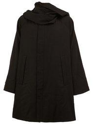 пальто с драпировкой Yohji Yamamoto