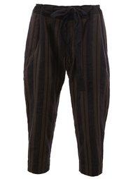 брюки в полоску Ziggy Chen