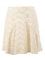 кружевная юбка со складками Giambattista Valli