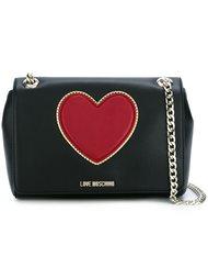 сумка через плечо с сердцем Love Moschino