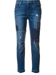 джинсы в стиле пэчворк  Derek Lam 10 Crosby