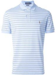 рубашка-поло в полоску с логотипом Polo Ralph Lauren