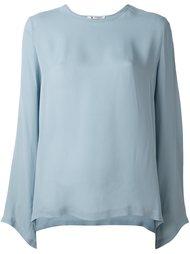 блузка с вырезом-ковш Barena