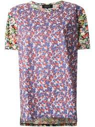 футболка с цветочным принтом  Anrealage