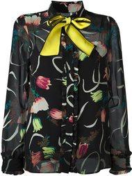 блузка с контрастным бантом I'M Isola Marras