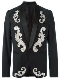 пиджак-смокинг с аппликацией  Christian Pellizzari
