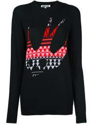 свитер с аппликацией  McQ Alexander McQueen