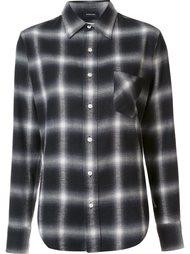 клетчатая рубашка на пуговицах R13