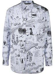 рубашка с принтом рисунков  Comme Des Garçons Shirt