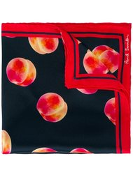 нагрудный платок с принтом персиков  Paul Smith