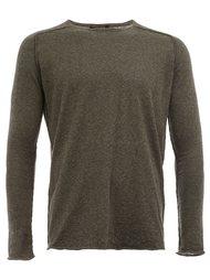свитер с видным швом  Roberto Collina