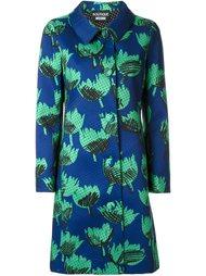 платье с цветочным принтом   Boutique Moschino