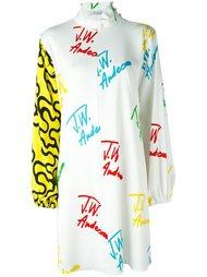 платье с принтом-логотипом J.W.Anderson