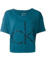 футболка с принтом логотипа   Calvin Klein Jeans