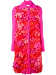 пальто с аппликацией  Victoria Victoria Beckham