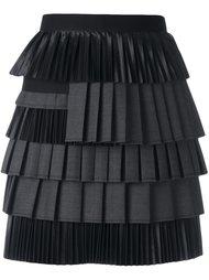 юбка с рюшами Dsquared2
