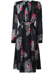платье с цветочным узором P.A.R.O.S.H.