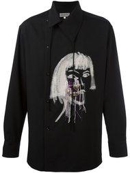 рубашка с асимметричной планкой Yohji Yamamoto