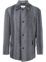 однобортное укороченное пальто Romeo Gigli Vintage