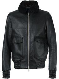 куртка с меховым воротником Ami Alexandre Mattiussi
