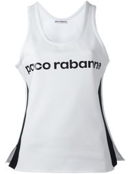 майка с принтом логотипа Paco Rabanne