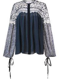 блузка в горох Chloé