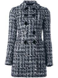 двубортное пальто букле Dolce & Gabbana