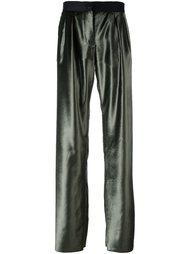 широкие атласные брюки Ssheena