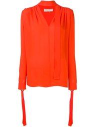 блузка на завязке  Emilio Pucci