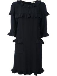 платье с рюшами Fendi