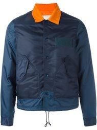 спортивная куртка с контрастным воротником Ganryu Comme Des Garcons