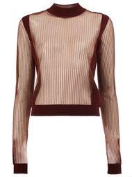 прозрачный свитер  Maison Margiela