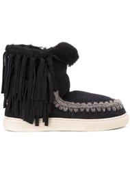 ботинки с бахромой  Mou