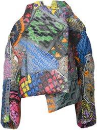 объемное пальто с абстрактным рисунком Vivienne Westwood