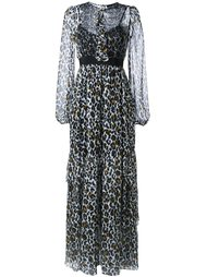 платье с леопардовым принтом   Marco Bologna