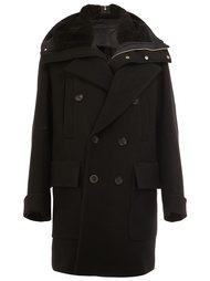 пальто с контрастным воротником Juun.J
